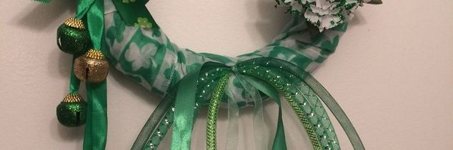 e st patrick s day wreath