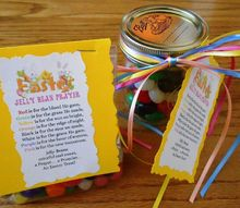 easter treat with jelly bean poem printable