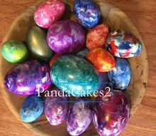 marbling egg stravaganza with unicorn spit