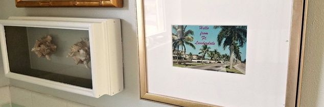 e how i created a vintage florida gallery wall