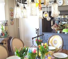 kid s easter tablescape