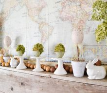 spring mantel easy decor to welcome the new season