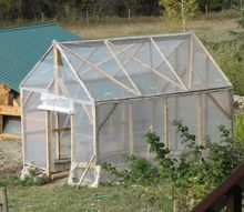 how we built a greenhouse for under 200