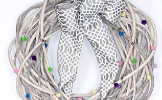 5 minute spring easter wreath