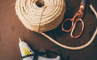 easy diy rope basket