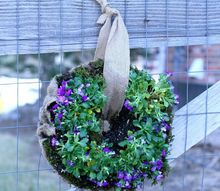 create a living spring wreath from dollar store items