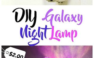 diy galaxy night lamp for 2