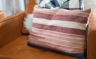 boho chic easy pillow tutorial