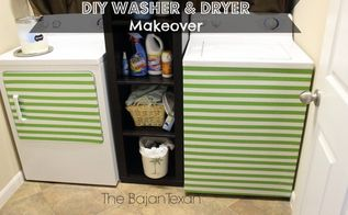 diy washer makeover dryer