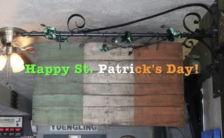 happy st patricks day old style banner for flanagan s irish pub