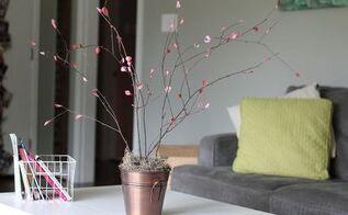 diy cherry blossom branches