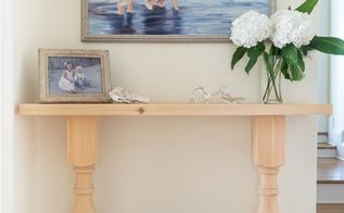 build a console table