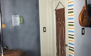washi tape doorway