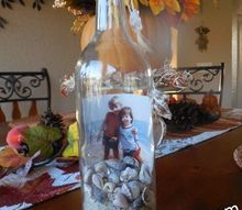 e crafternoons repurpose bottle to savor beach memories thoughts