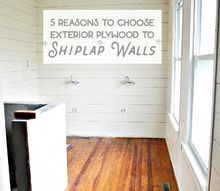 shiplap walls 5 reasons to use exterior plywood instead of luan under