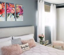 master bedroom makeover plain jane to glam