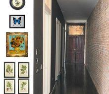 design inspiration black gallery walls
