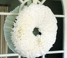 simple coffee filter wreath