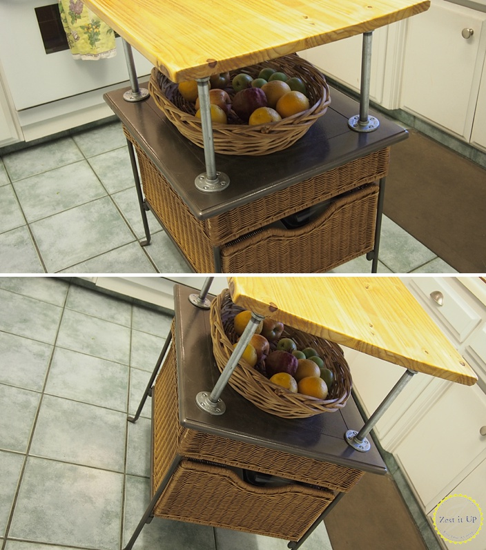 Turning A Coffee Table Into A Kitchen Island