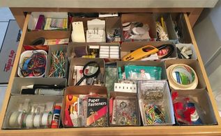 free custom junk drawer organization, Neatly organized junk drawer