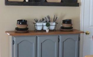 creating kitchen storage space in a decorative way