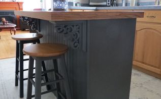this upcycle created a beautiful kitchen island