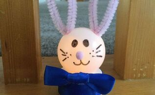 easy light up bunny craft
