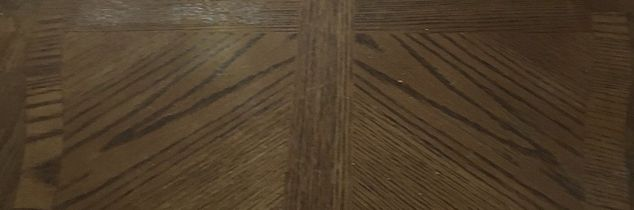 q how do i refinish end tables with veneer insets