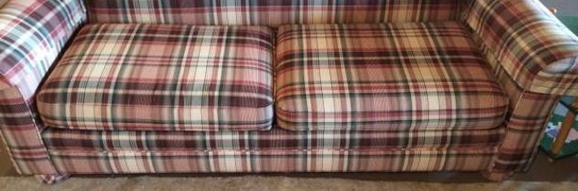 q painting a plaid fabric couch any advice