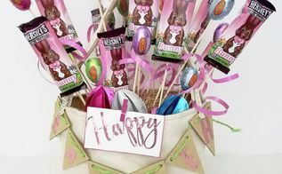 diy easter candy explosion basket