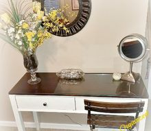 a light bright vanity upcycle