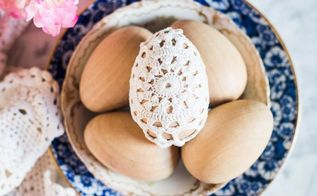 simple diy crochet easter eggs