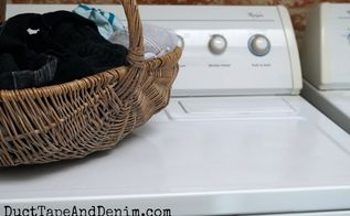 how to paint a washing machine and dryer