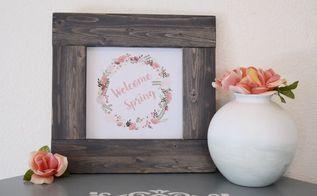 how to build a frame free spring printables