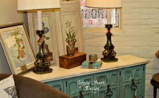 china cabinet re purpose