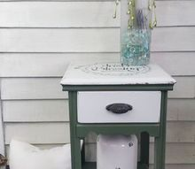irish blessing stenciled table