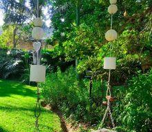 making a dreamy garden swing for the backyard