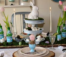 how to make a three tiered tray from cake pans