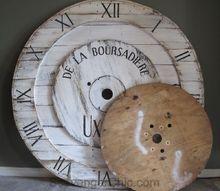 big huge pottery barn inspired wall clock