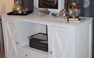 farmhouse makeover for a buffet console