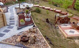 landscaped garden boxes, Rockeries Paving and Garden