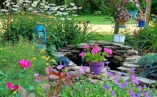 i m so ready for time in the garden are you, Patio with a view
