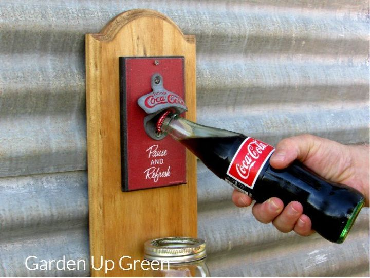 coca cola bottle opener hometalk. Black Bedroom Furniture Sets. Home Design Ideas