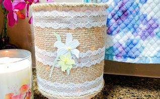 how to easily create a charming farmhouse lighted jar