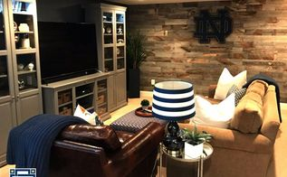basement makeover