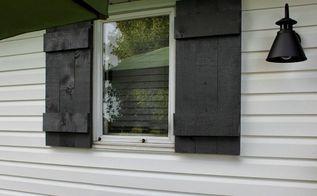 easy diy shutters