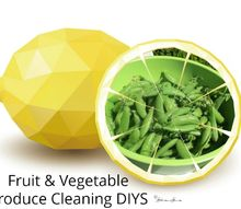 natural produce cleaning wash