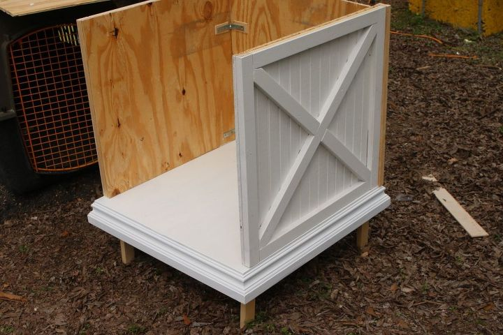 Sliding Barn Door Side Table Hometalk