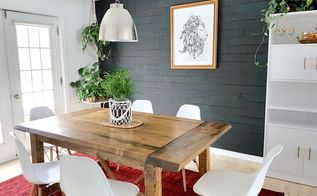 diy beginner builder dining room table free plans