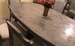 Concrete Top Dining Table Hometalk